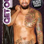 GET OUT GAY MAGAZINE 152- MARCH 19 - BOOMER BANKS  -