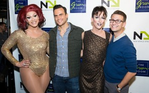 Marti Gould Cummings Michael Lamasa Alexis Michelle and special guest Cheyenne Jackson