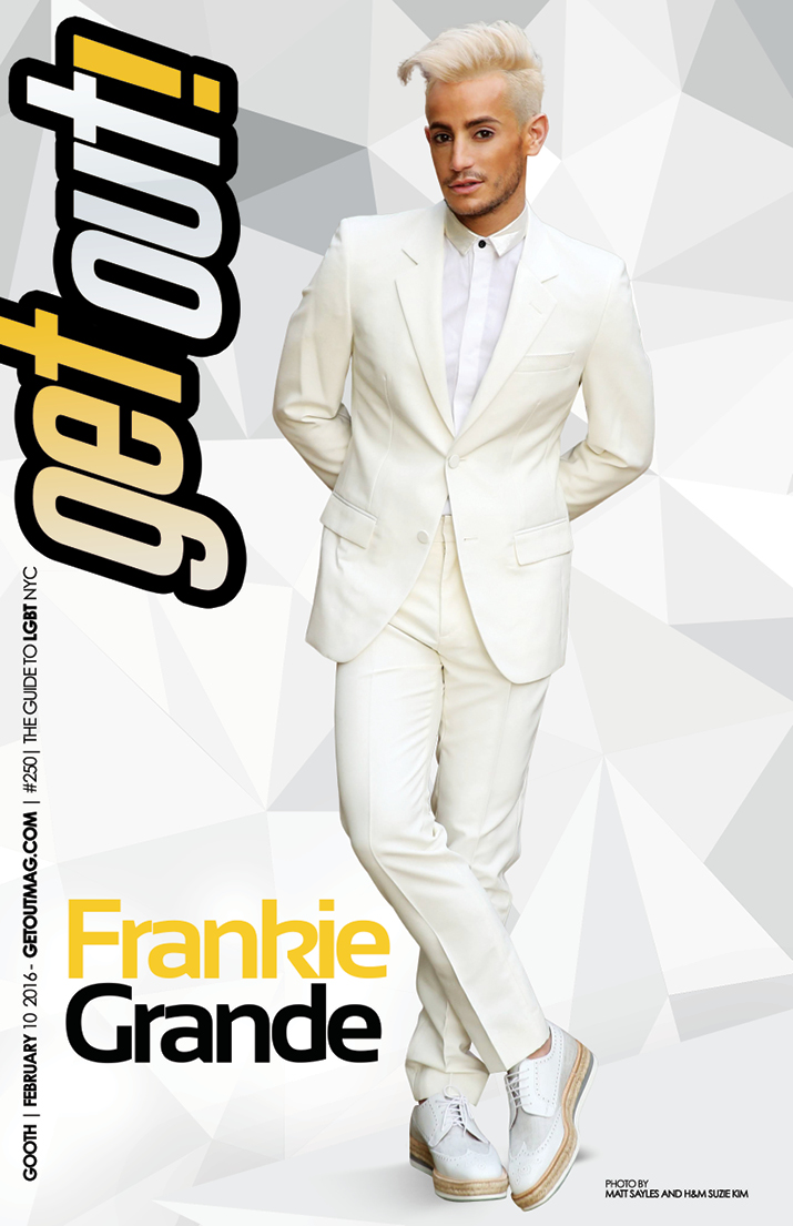 GET OUT MAGAZINE - ISSUE 250 - FEB10 - FRANKIE GRANDE-