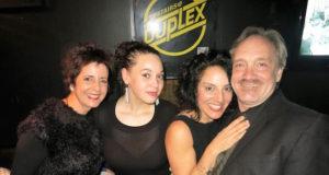 Pictured: Mary Setrakian, Cheyenne, Susan Campanaro and Rick Jensen