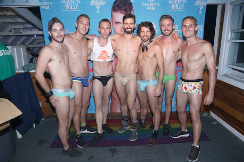 from Parker gay party underwear