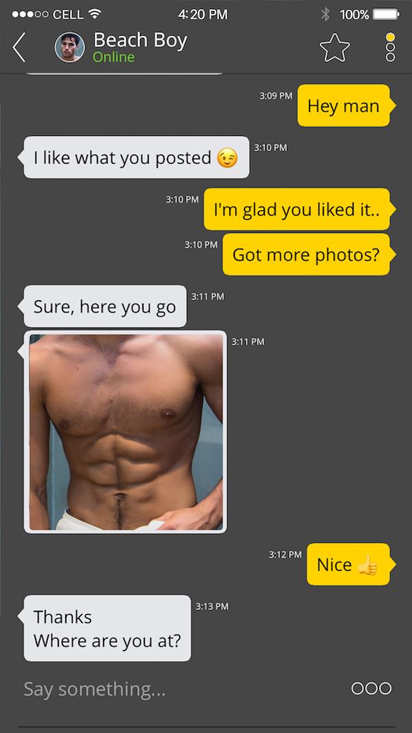 Gay dating problem
